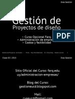Farq EUCD Gestión de Proyectos Clase 02-2015