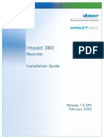 IP Recorder Install Guide Impact360