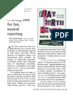 Flat Earth News