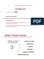 Study of Climatic Data