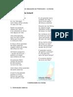 Poesia - Ficha de Avaliação de Português