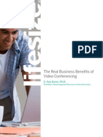 The Real Business Benefits of Video Conferencing