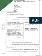 Netscape Communications Corporation et al v. Federal Insurance Company et al - Document No. 14