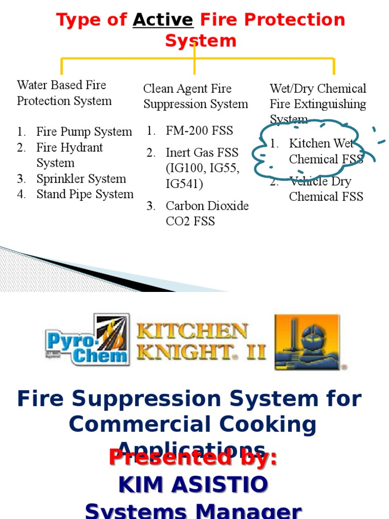 5 pyrochem kitchen knight ii presentation uap building rh scribd com