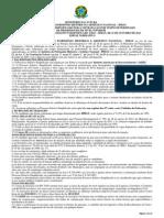 Edital Processo Seleletivo Simplificado 2013 IPHAN