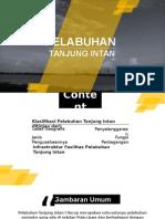 Studi Kasus Pelabuhan Tanjung Intan Cilacap