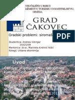 Cakovec_gradski Problemi-siromastvo i Kriminal