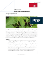 Wild and Managed Pollinators Report