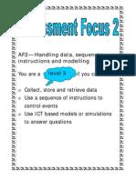 Assessment Focus 2 - ICT APP