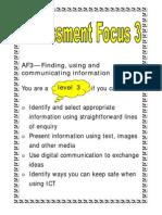 Assessment Focus 3 - ICT APP