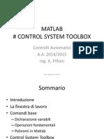 Matlab per Controlli Automatici