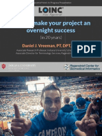 2015 04 - How to make your project an overnight success (in 20 years)