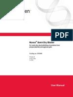 Novex Semidry Blotter Manual