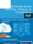 Windows Azure - Security Privacy Compliance