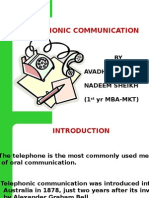 Telephonic Comunication