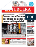 Diario La Tercera 08.04.2015