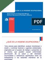 Introducción a La Higiene Industrial Profesor Juan Alcaino