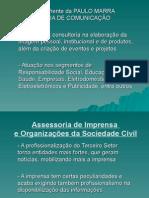 Palestra Assessoria Doutores Da Alegria - Responsabilidade Social 2003