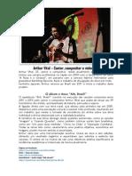 Release Arthur Vital Alô Brasil