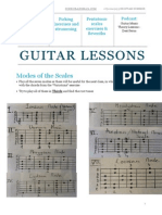 Guitar Lesson - 24th June