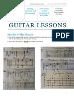 Guitar Lesson - 24th June