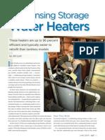 Condensing Storage Water Heaters