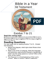 Bible in A Year 13 OT Exodus 7 to 21