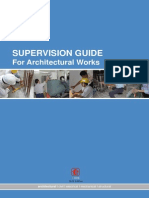 HDB_Architectural Supervision Guide 2012