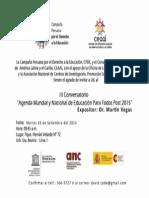 Invitacion III Conversatorio EPT Post 2015