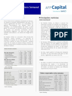 Panorama Financiero Semanal