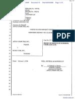 Apple Computer Inc. v. Burst.com, Inc. - Document No. 10