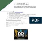 do something project sheet
