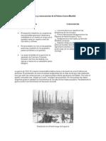 Causas y Consecuencias de La Primera Guerra Mundial