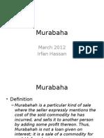 7. Murabaha March 2012