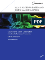 AP Physics 1 2 Course and Exam Description