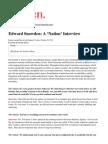 edward snowden - the nation interview