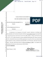 Estate of Ricardo Escobedo et al v. City of Redwood City et al - Document No. 133