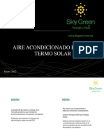 Skygreen DISTRIBUIDORES Aire Acond Termo Solar
