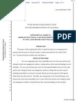 Woloszyn -v- Eli Lilly and Company - Document No. 3