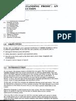 Unit 1 Understanding Prose - IGNOU
