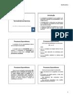 Quimica III - Termodinamica Quimica - 2012 - 1