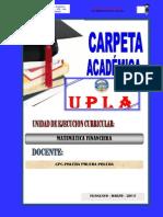 Modelo Carpeta Pedagogica