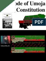 The Code of Umoja of PG-RNA /Black Constitution