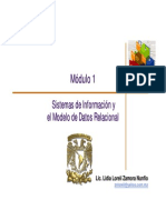 Modulo 1 Sistemas de Informacion