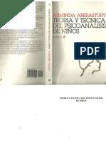 Teoría y técnica del psicoanálisis de niños [Arminda Aberastury].pdf
