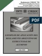 Ejemplos de aplicación de diseño en aluminio