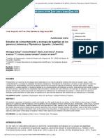 Cuadernos de Herpetología - Estudios de Comportamiento y Ecología de Lagartijas de Los Géneros Liolaemus y Phymaturus (Iguania_ Liolaemini)