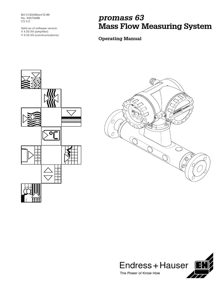 Coriolis 63 | Power Supply | Flow Measurement