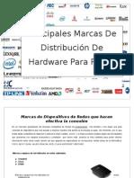 Principales Marcas de Distribución de Hardware Para Redes