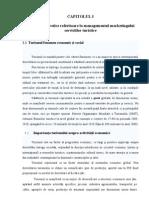 CAPITOLUL I Elemente Teoretice Referitoare La Managementul